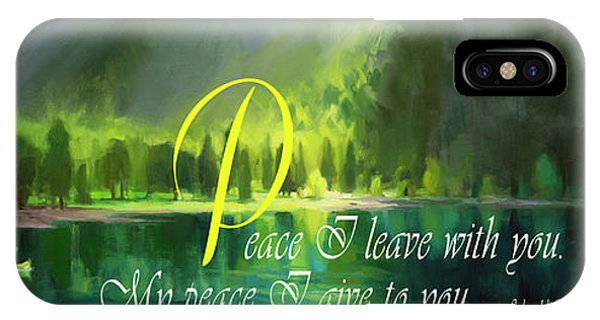Modern iPhone Case - Peace I Give You by Steve Henderson