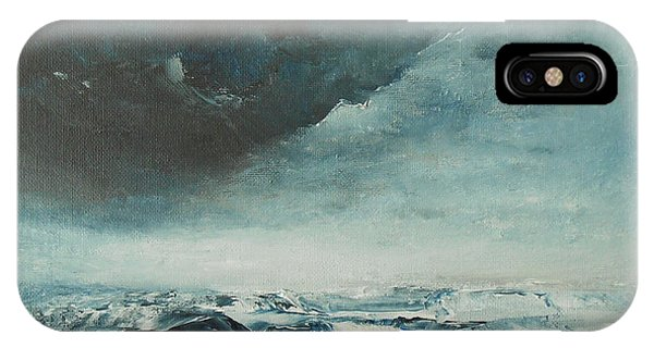 Peace In The Midst Of The Storm IPhone Case