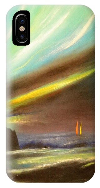 Peace Is Colorful - Vertical Painting IPhone Case