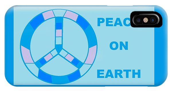 Peace On Earth 3 IPhone Case