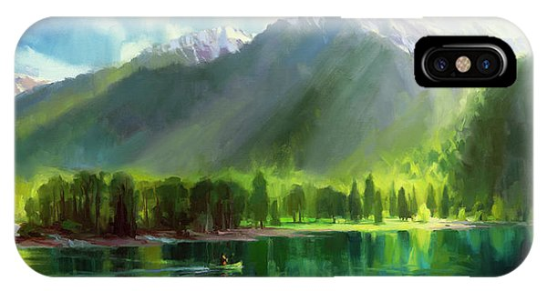 Northwest iPhone Case - Peace by Steve Henderson