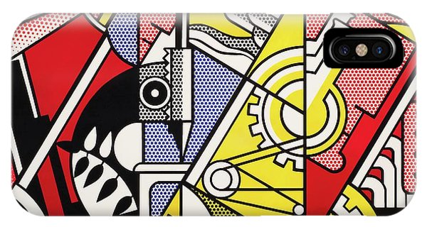 Peace Through Chemistry I - Roy Lichtenstein IPhone Case