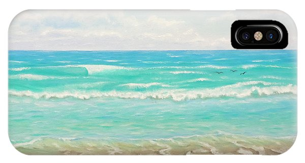Peaceful Beach IPhone Case