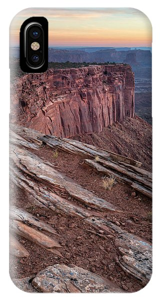 Peaceful Canyon Morning IPhone Case