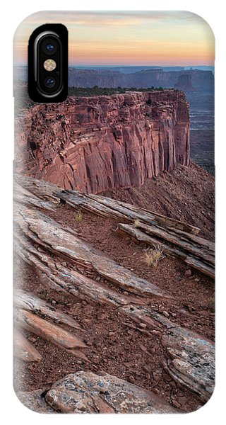 Peaceful Canyon Morning IPhone Case