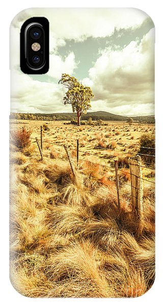 Scenery iPhone Case - Peaceful Country Plains by Jorgo Photography - Wall Art Gallery