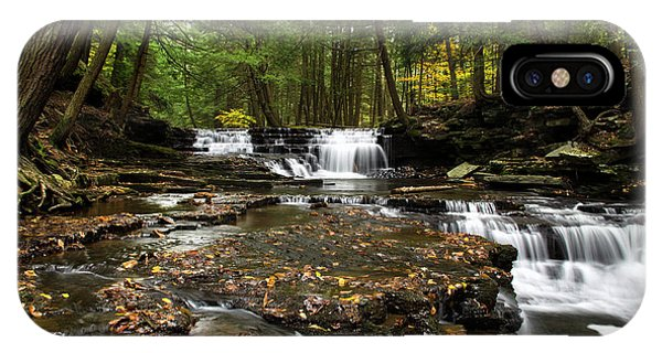 Peaceful Flowing Falls IPhone Case