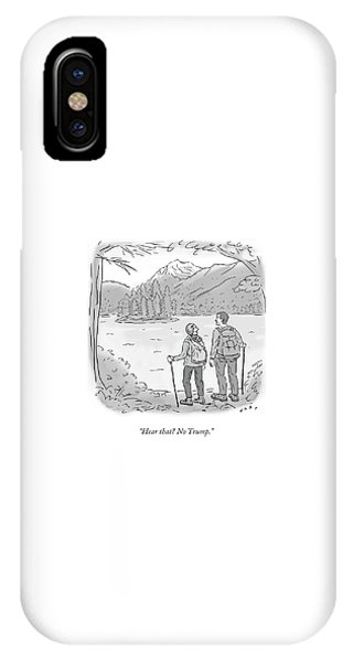 Peaceful Hikers IPhone Case