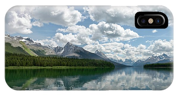 Peaceful Maligne Lake IPhone Case