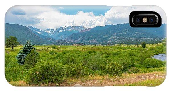 Peaceful Meadow IPhone Case