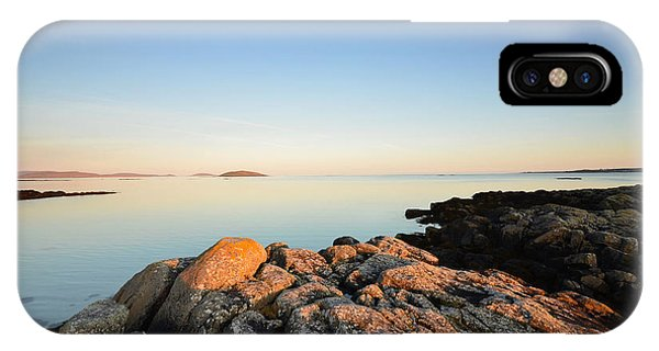 Scotland iPhone Case - Peaceful Morning by Smart Aviation