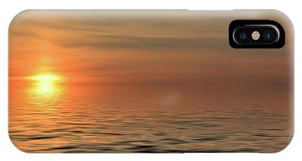 Peaceful Sunrise IPhone Case