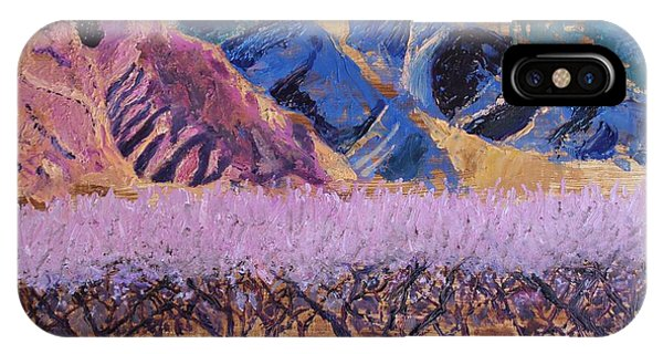 Peach Orchard Canigou IPhone Case