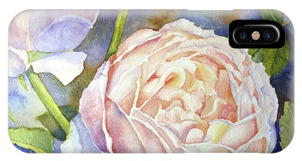 Peach Roses IPhone Case