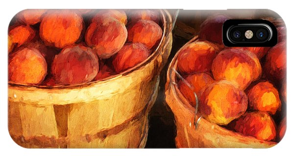 Peaches By The Bushel  IPhone Case