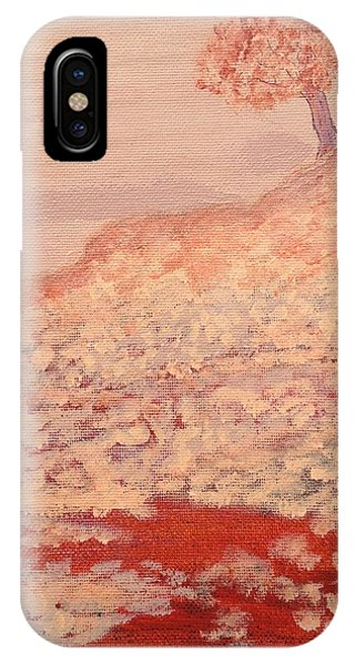 Peachy Day IPhone Case