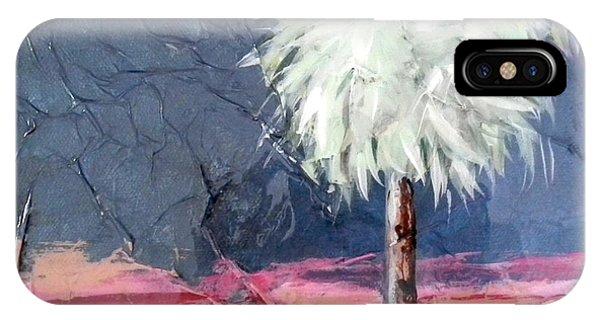 Peachy Horizons Palm Tree IPhone Case