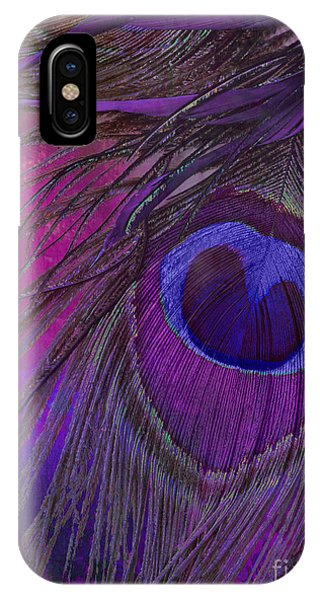 Peacocks iPhone Case - Peacock Candy Purple  by Mindy Sommers