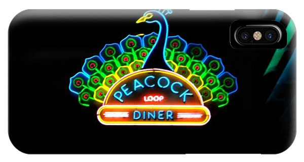 Peacock Diner In The Loop IPhone Case
