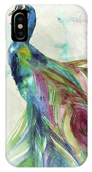 Peacocks iPhone Case - Peacock Dress by Mindy Sommers