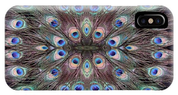 Peacock Eye Kaleidoscope IPhone Case