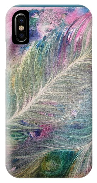 Peacock Feathers Pastel IPhone Case