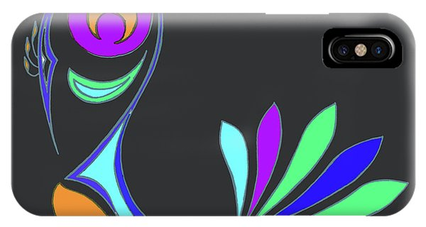 Peacock Impressions IPhone Case