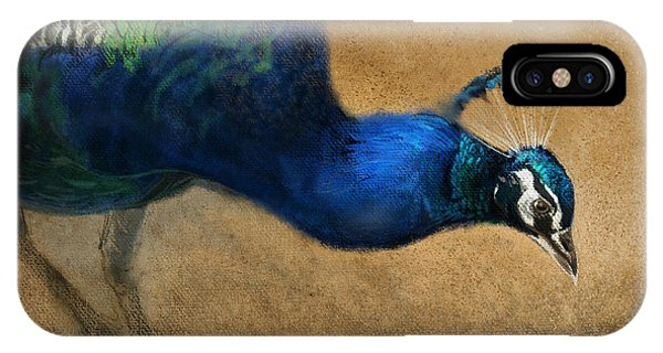 Peacock iPhone Case - Peacock Light by Aaron Blaise