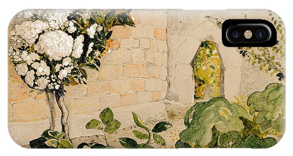 Pear Tree In A Walled Garden IPhone Case
