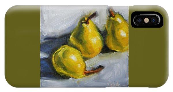 Pear Trio IPhone Case
