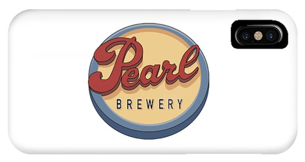 Pearl Brewery Sign IPhone Case
