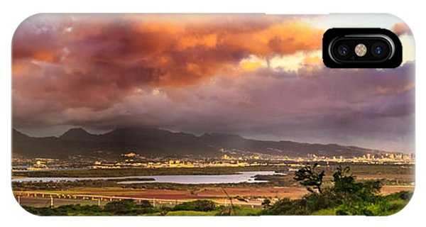 Pearl Harbor Sunset IPhone Case