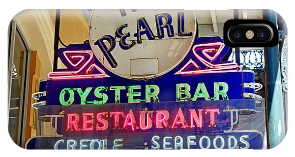Pearl Oyster Bar IPhone Case