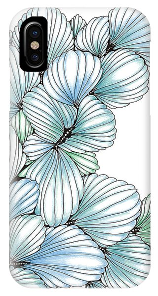 Pearlescent Plume IPhone Case