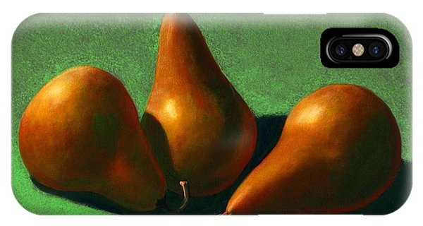 Beverage iPhone Case - Pears by Frank Wilson