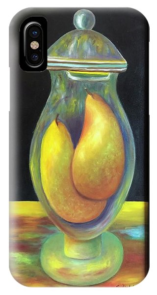 Pears In Ginger Jar.  Sold IPhone Case