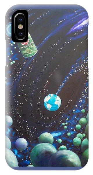 Blaa Kattproduksjoner       Peas On Earth IPhone Case