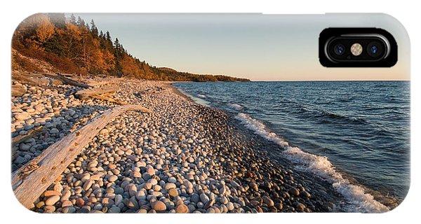 Pebble Beach Autumn    IPhone Case