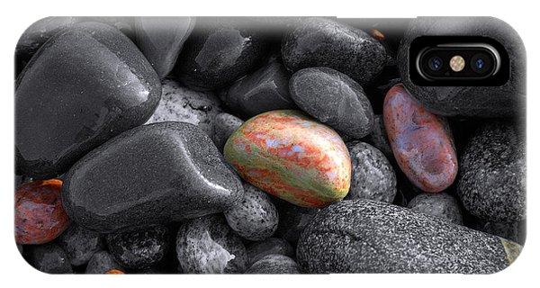 Pebble Jewels   IPhone Case
