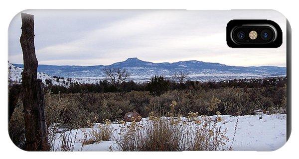 Pedernal Mountain IPhone Case