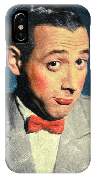 Pee-wee Herman IPhone Case