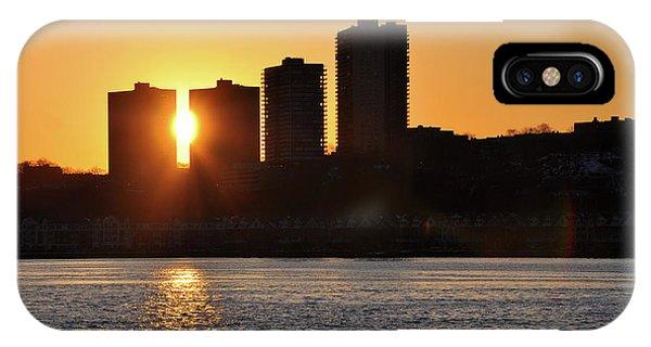 Peekaboo Sunset IPhone Case