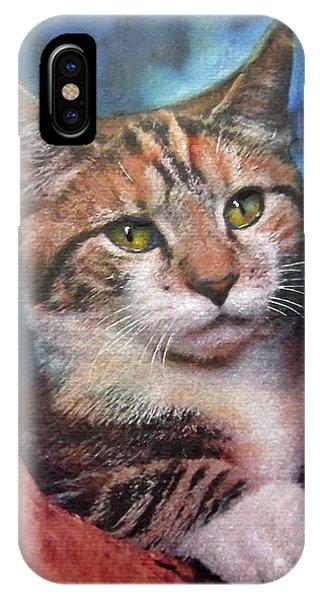 Peekaboo Tabby IPhone Case