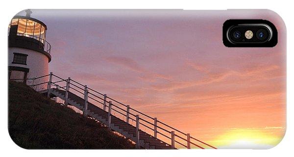 Peeking Sunrise IPhone Case