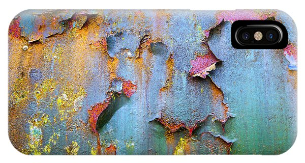 Peeling Paint And Rust Textures 135 IPhone Case