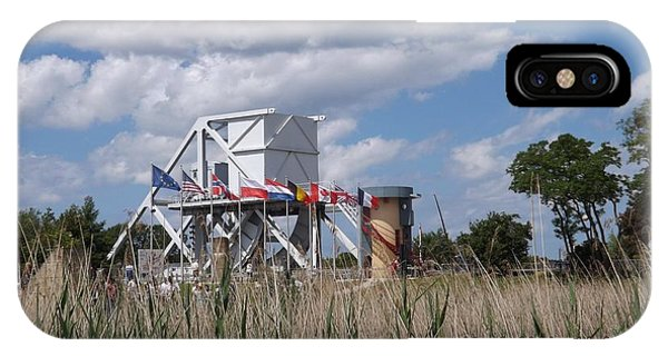 Pegasus Bridge IPhone Case