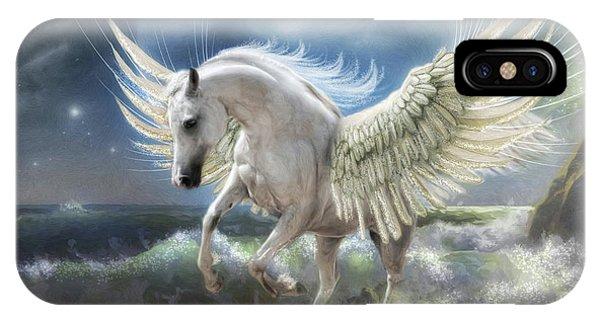 Pegasus Rising IPhone Case