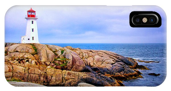 Peggys Cove Lighthouse IPhone Case