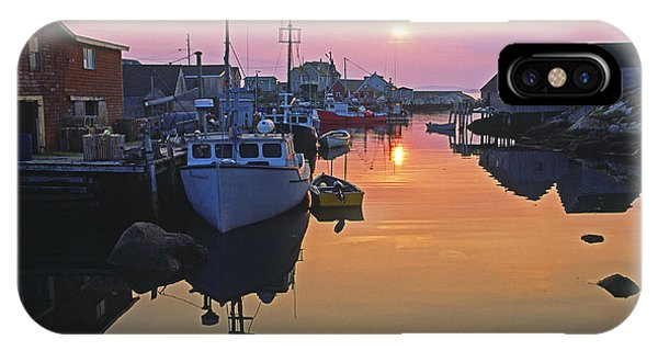 Peggy's Cove, Nova Scotia, Canada IPhone Case