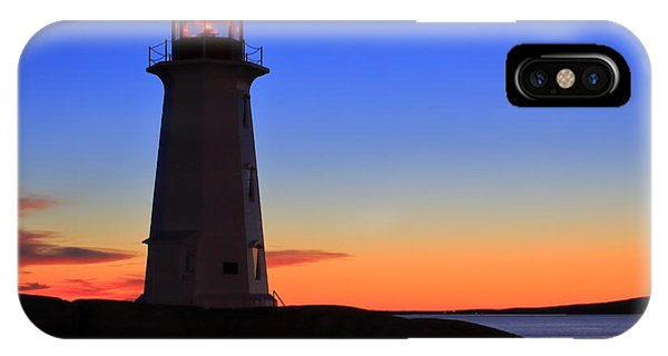 Peggy's Point Lighthouse, Nova Scotia IPhone Case